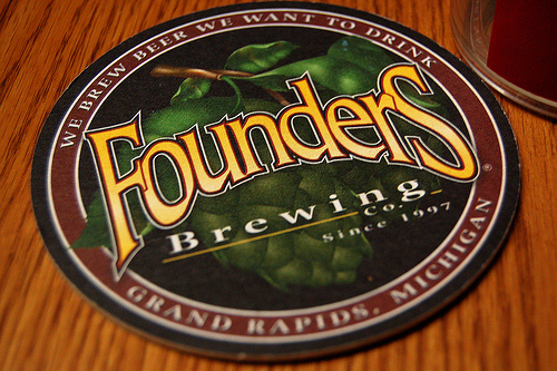 Founders coaster logo