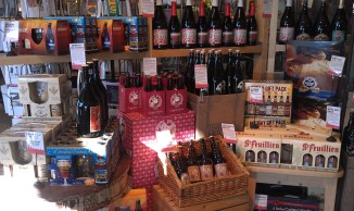 Ellwood Thompson -- You'll find all of this just as you walk in the door. Tripel Karmeliet, Chimay , oh my.