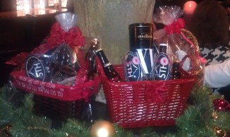 Sedona Taphouse had these baskets as you walked in the door but have more to offer here. http://www.sedonataphouse.com/gift-basket-order-form