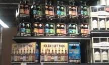 Whole Foods Short Pump -- Shmaltz & St Bernardus packs.