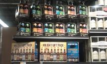 Whole Foods Short Pump -- Shmaltz & St Bernardus packs.