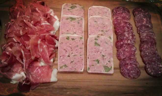 charcuterie The Room Secco