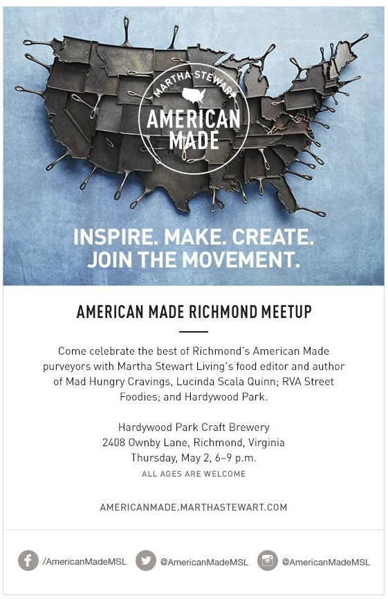 American Made RVA Meetup Hardywood2