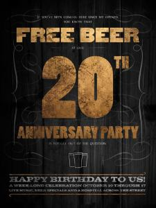 Commercial Taphouse 20th Anniv