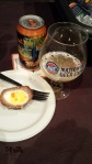 DeFazio's: Scotch Egg with Terrapin Hi-5 IPA