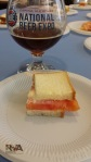 Brookville Restaurant: Tomato & Duke's Mayo Sammy with Sam Adams Tetravis