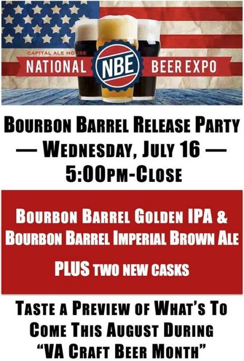 Legend NBE Bourbon barrel tappings