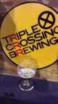 Triple Crossing Single Hop Saison with Pacific Jade Hops