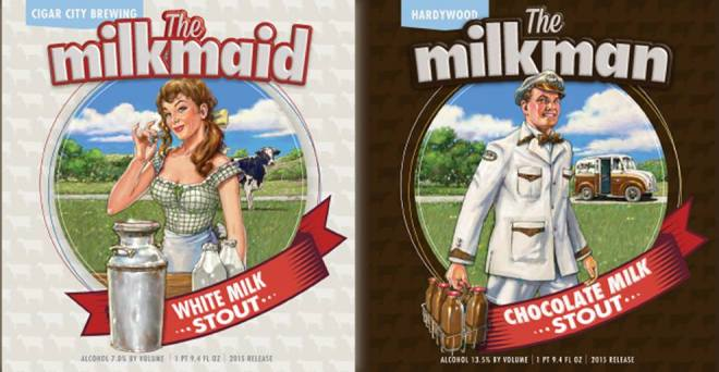 Hardywood Milkman Cigar City Milkmaid