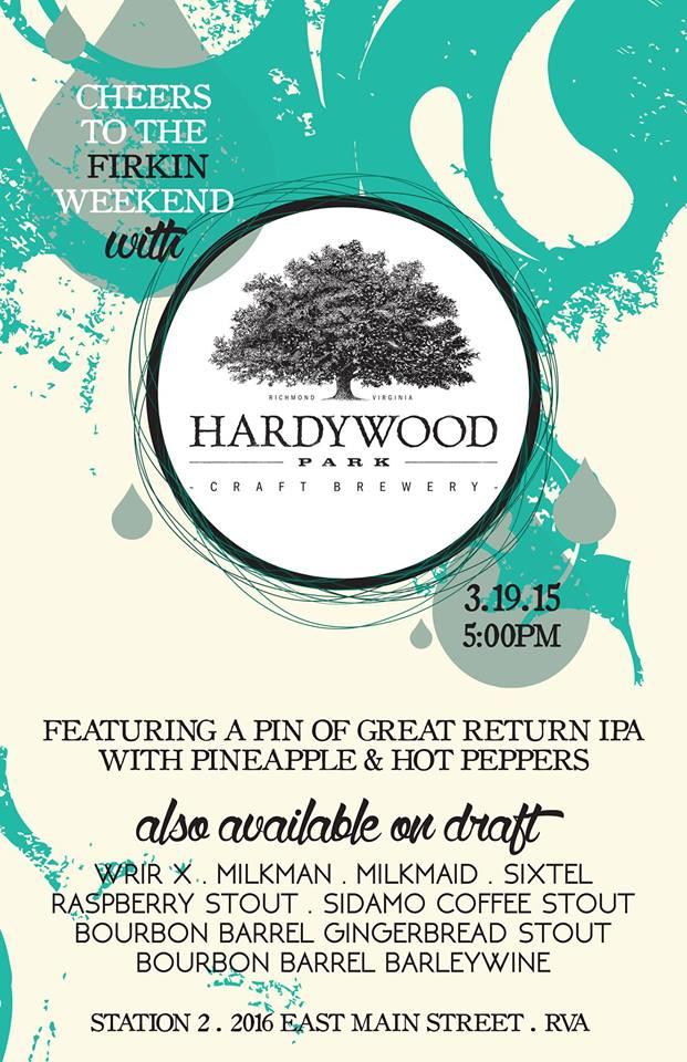 Hardywood Firkin Station2 031915