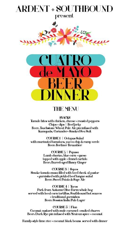 Ardent Southbound dinner 050415-2