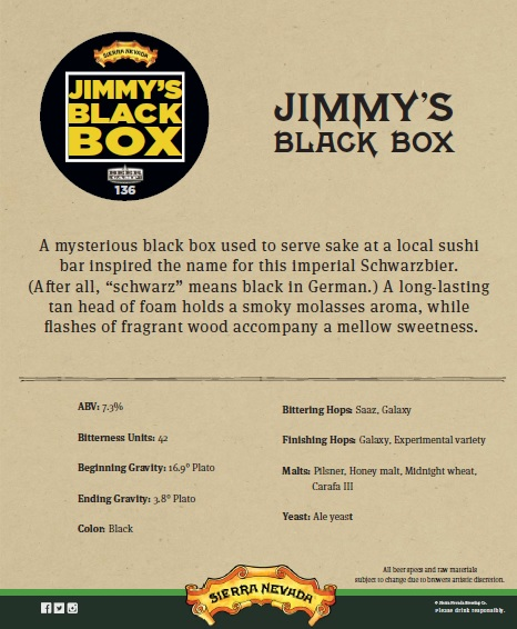 Foo Dog SN Jimmy's Black Box