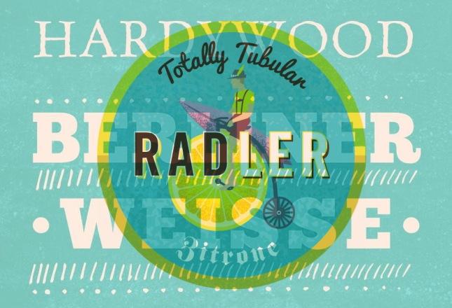Hardywood Berliner Weisse & Strangewasy Zitrone Radler 041115