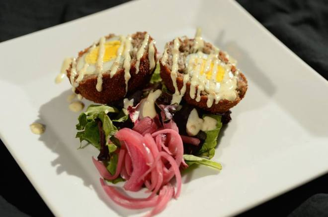 Rare Olde Times Public House will be serving up mouth watering Bacon Covered Scotch Eggs.
