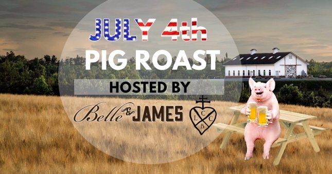 LCCB July 4th pig roast