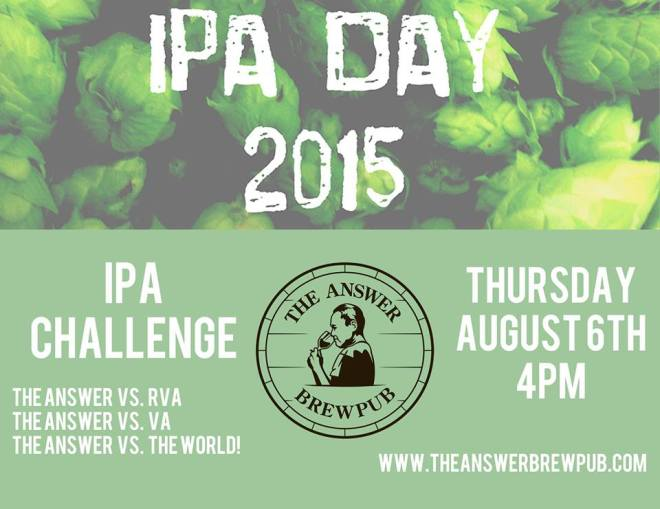 National IPA Day 2015 The Answer