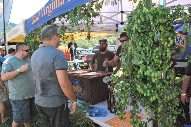 Blue Mountain Brewery - Virginia Craft Brewers Fest 2015