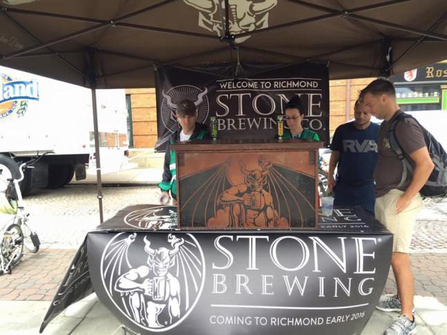 Stone Brewing RVA