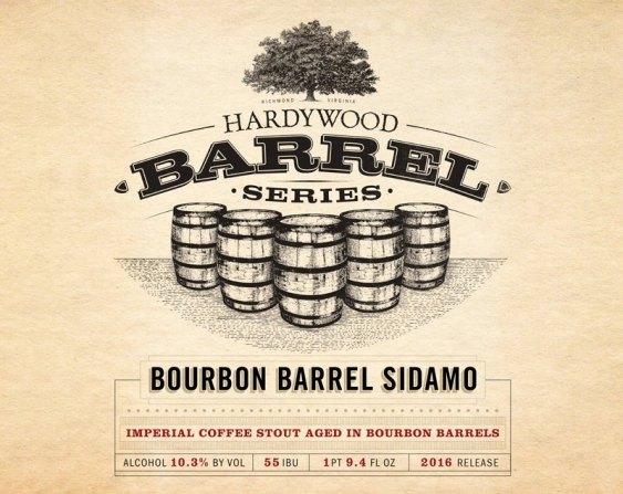 Hardywood Bourbon Sidamo 2016