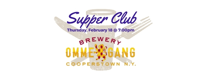 Ommegang Hutch Supper Club