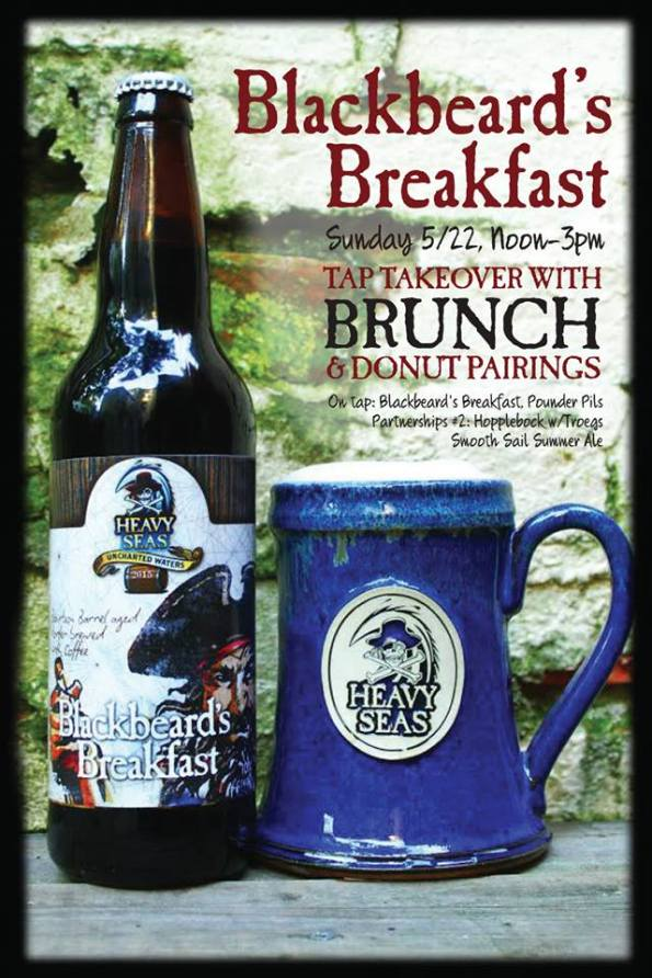 Heavy Seas Blackbeard Brunch at Sedona Taphouse
